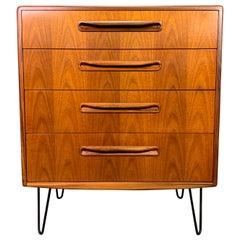 Vintage British Mid-Century Modern Teak Lowboy Dresser by G Plan