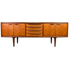 "Vintage British Mid-Century Modern Teak ""Sequence"" Credenza by A. Younger Ltd."