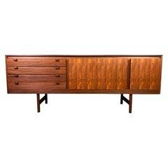 Vintage British Midcentury Teak Credenza by Robert Heritage for Archie Shine