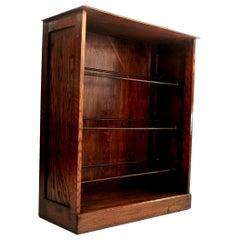 Vintage British Oak Shoe Storage Cupboard