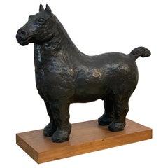 Vintage Bronze Horse