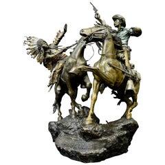 "Vintage Bronze, ""How Kola"" by C. Kauba"