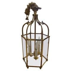 Vintage Bronze Lantern Style Fixture