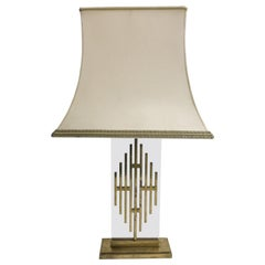 Vintage Bronze Table Lamp, 1960s