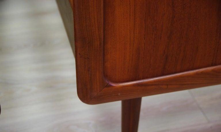 Scandinavian Vintage Brown Beds Danish Design Teak Classic, 1960s
