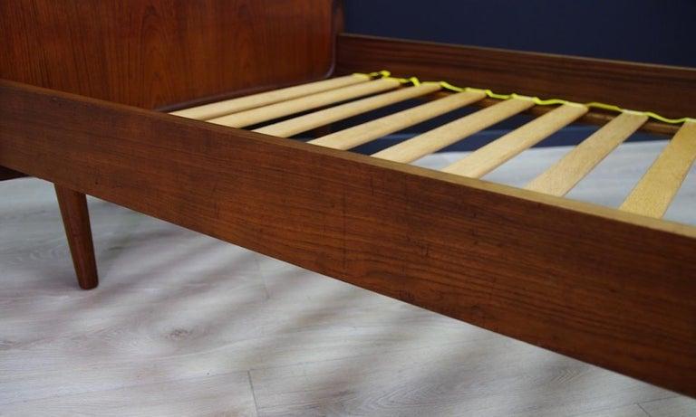 Vintage Brown Beds Danish Design Teak Classic, 1960s 1