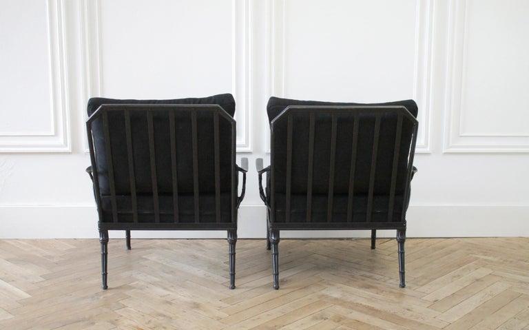 American Vintage Brown Jordan Calcutta Pair of Lounge Chairs For Sale