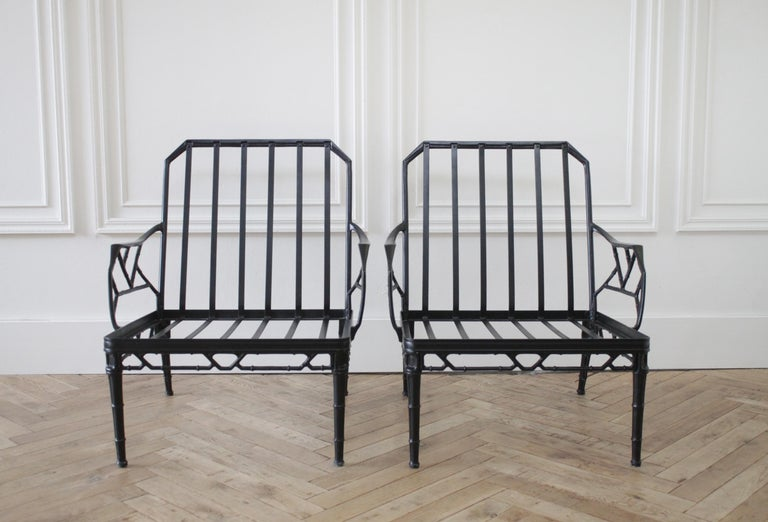 Vintage Brown Jordan Calcutta Pair of Lounge Chairs For Sale 2