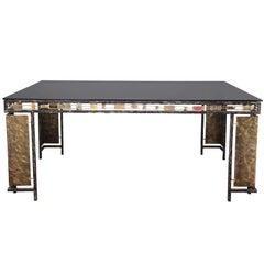 Vintage Brutalist Table Base by Silas Seandel