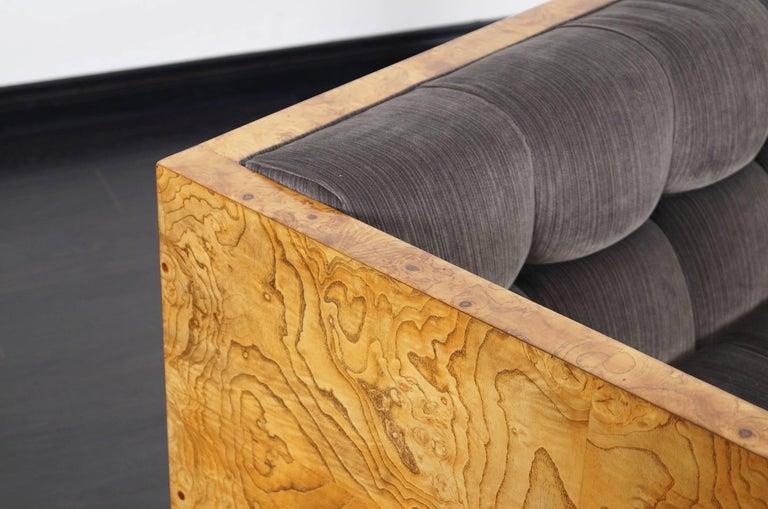 Mid-Century Modern Vintage Burl Wood