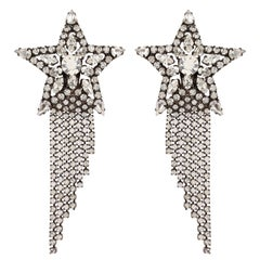 Vintage Butler & Wilson Shooting Star Earrings