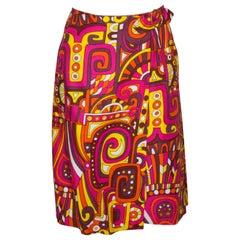 Vintage By Laddies Wrap Around Skirt