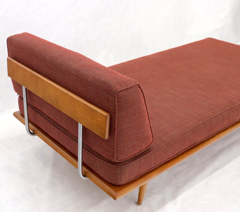 Vintage George Nelson for Herman Miller Daybed Cot Sofa Chaise Lounge For Sale 4