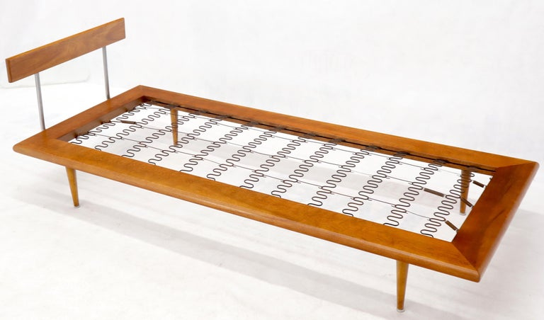 Vintage George Nelson for Herman Miller Daybed Cot Sofa Chaise Lounge For Sale 8