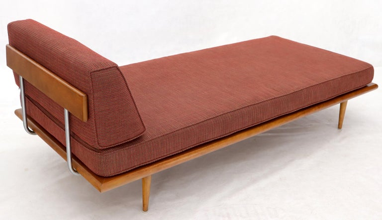 Maple Vintage George Nelson for Herman Miller Daybed Cot Sofa Chaise Lounge For Sale