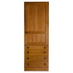 Vintage Cabinetmaker Wardrobe From Denmark, Circa 1960
