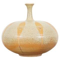 Vintage California Studio Pottery Vase, Signed