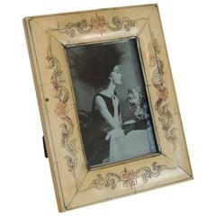 Vintage Camel Bone Picture Frame