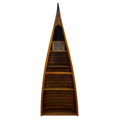 Vintage Canoe Bookcase / Display Shelving
