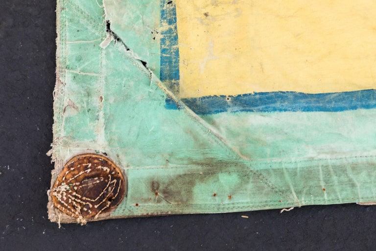 Vintage Canvas Side Show Banner Carnival For Sale 1