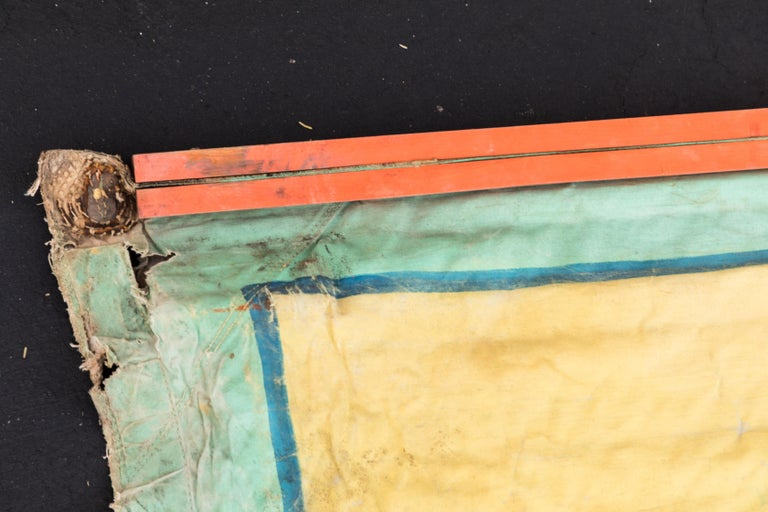 Vintage Canvas Side Show Banner Carnival For Sale 3