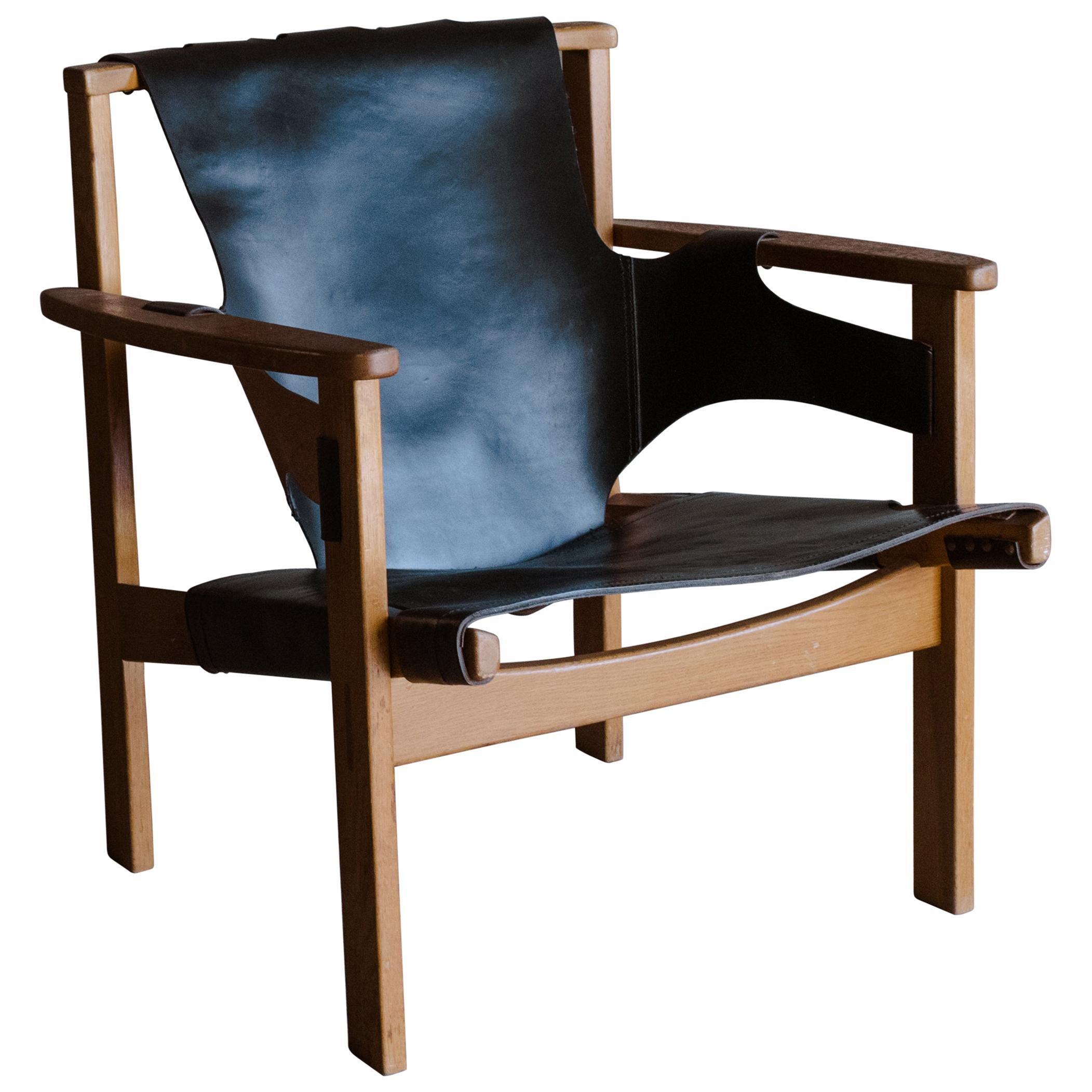 Vintage Carl-Axel Acking Chair for NK 'Nordiska Kompaniet', Model 'Trienna'