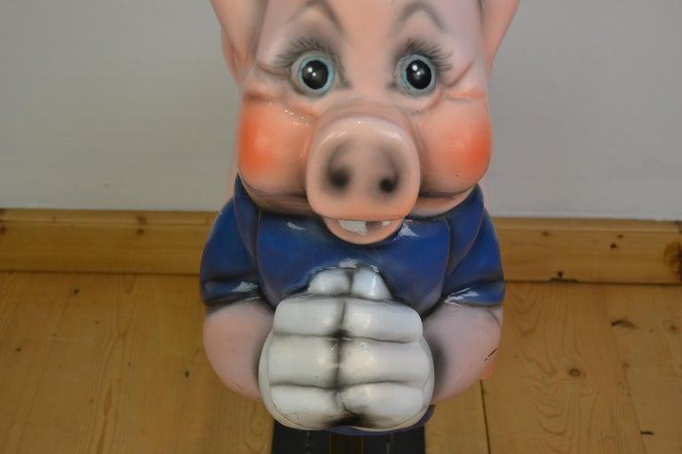 Vintage Carousel Ride Pig, Little Pig, Porky Pig, 1960s For Sale 6