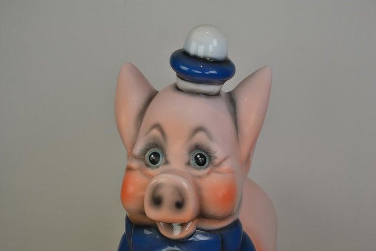 Vintage Carousel Ride Pig, Little Pig, Porky Pig, 1960s For Sale 10