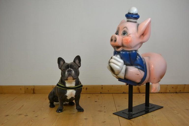 Vintage Carousel Ride Pig, Little Pig, Porky Pig, 1960s For Sale 13