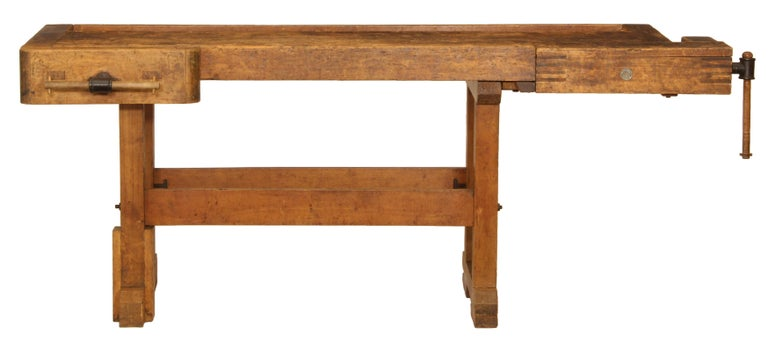Vintage Carpenters Bench For Sale At 1stdibs