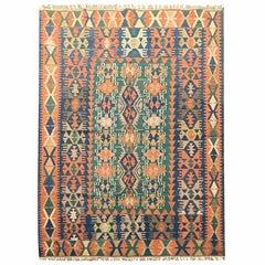 Vintage Carpet Turkish Kilim Rug
