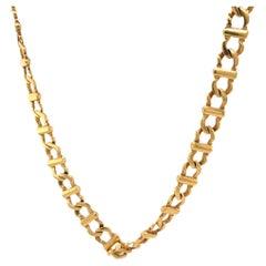 Vintage Cartier 18 Karat Yellow Gold Necklace