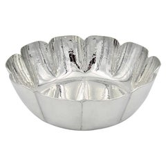 Vintage Cartier Bowl Handcrafted in Polished Pewter