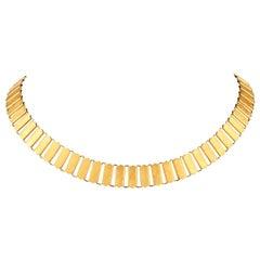 Vintage Cartier Cleopatra 18 Karat Choker Necklace