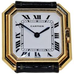 Vintage Cartier Paris Centure Medium Watch