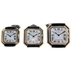 Vintage Cartier Paris Centure Wristwatch Collection, circa 1975-1980