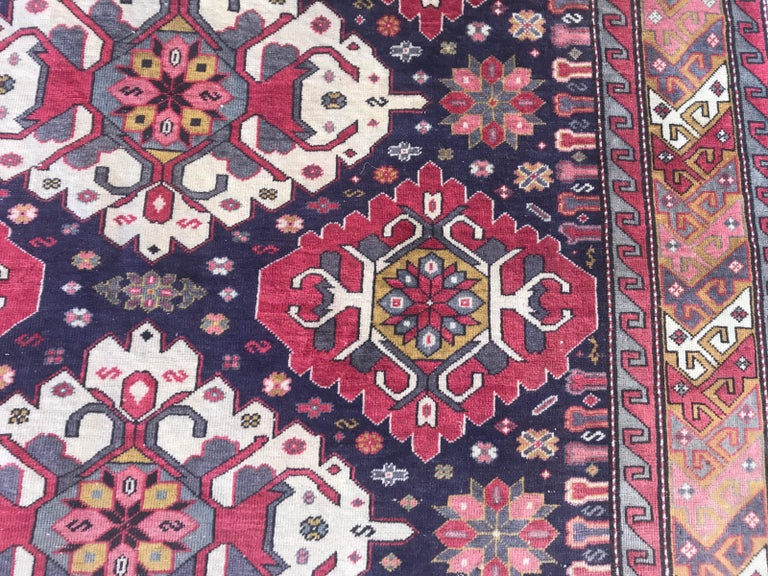 20th Century Vintage Caucasian Azerbaijan Rug For Sale