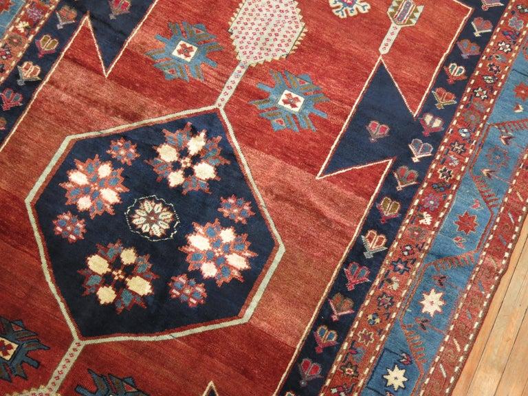20th Century Vintage Caucasian Kazak Rug For Sale