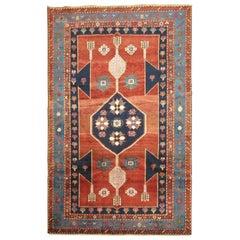 Vintage Kaukasischer Kazak Teppich