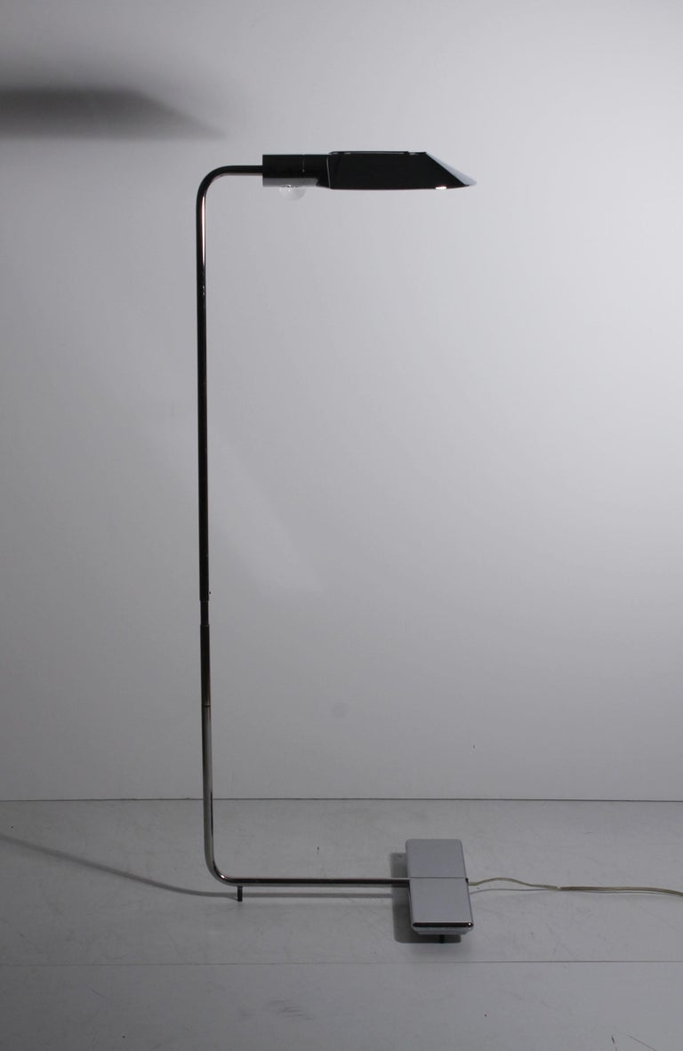 Vintage Cedric Hartman floor lamp / signed and numbered.  very adjustable moving in multi directions and going up. So it can be taller as well than DIMs posted.  more pics available...