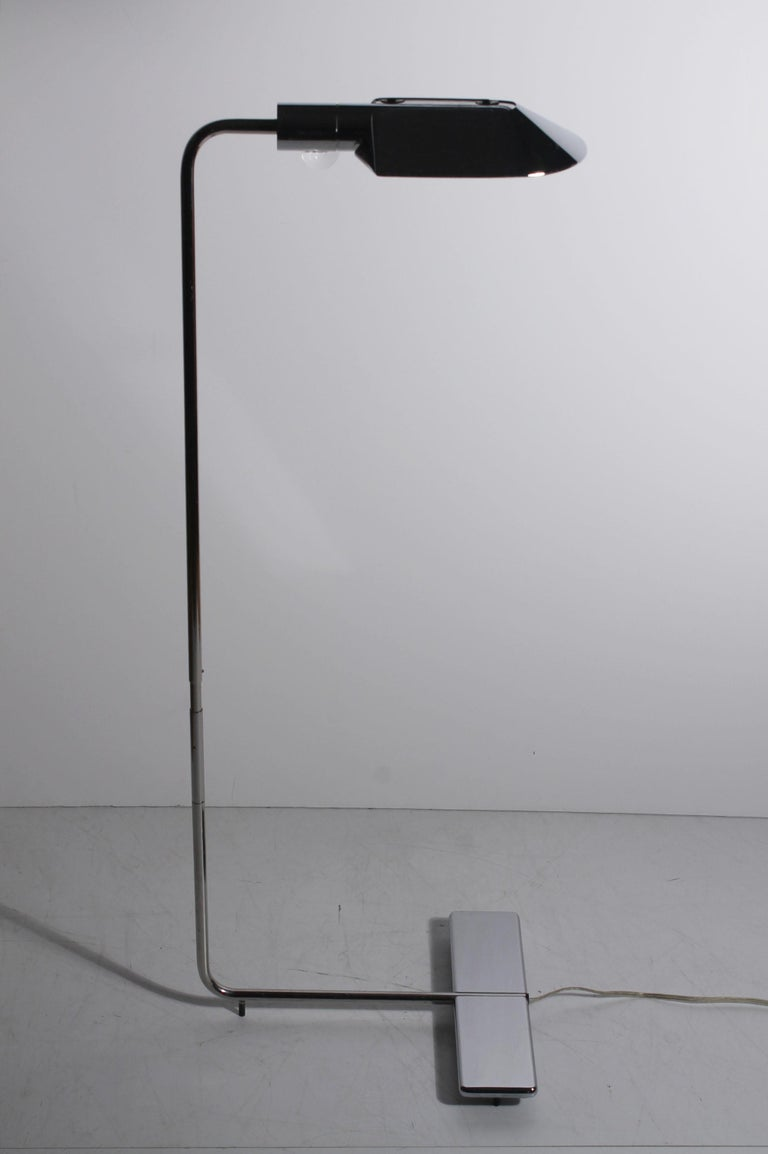 American Vintage Cedric Hartman Floor Lamp Signed/Numbered For Sale