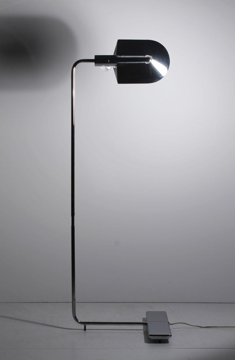 Vintage Cedric Hartman Floor Lamp Signed/Numbered In Excellent Condition For Sale In Chicago, IL