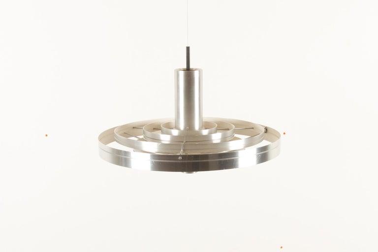Mid-Century Modern Vintage Ceiling Pendant Fibonacci by Sophus Frandsen for Fog & Mørup, 1960s For Sale