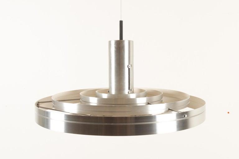 Mid-20th Century Vintage Ceiling Pendant Fibonacci by Sophus Frandsen for Fog & Mørup, 1960s For Sale