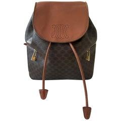 Vintage Celine Backpack Macadam