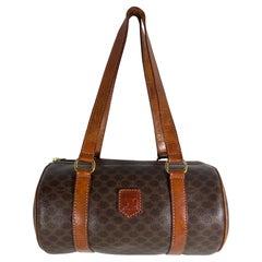 Vintage Céline Macadam Barrel Bag