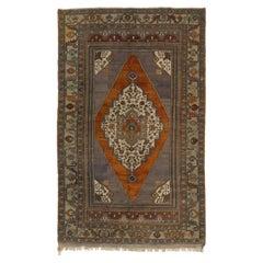 Vintage Central Anatolian Taspınar Rug, 100% Wool
