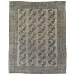 Vintage Central Asian Bokhara Rug