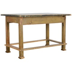 Vintage Central European Worktable