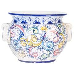 Vintage Ceramic Cachepot by Cer.Italia